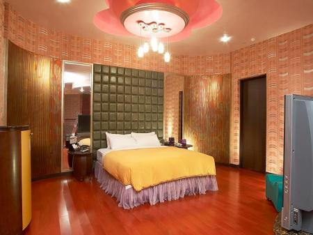 Standard Double - Denah kamar Royal Group Motel Nan Tse Branch