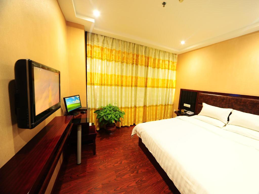 Business King Bed Jiangyue Hotel