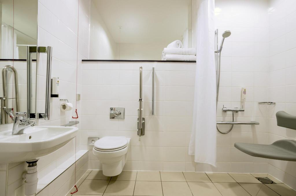 Baño Tune Hotel - Liverpool Street (Point A London Liverpool Street)