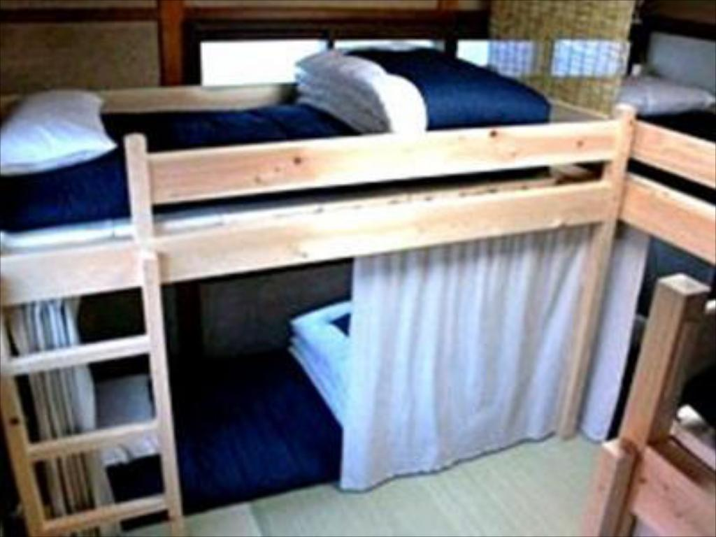Mixed Dormitory - Bed Hidatakayama Guest House Tomaru