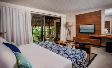Ocean Room - Bed Paradis Beachcomber Golf Resort & Spa