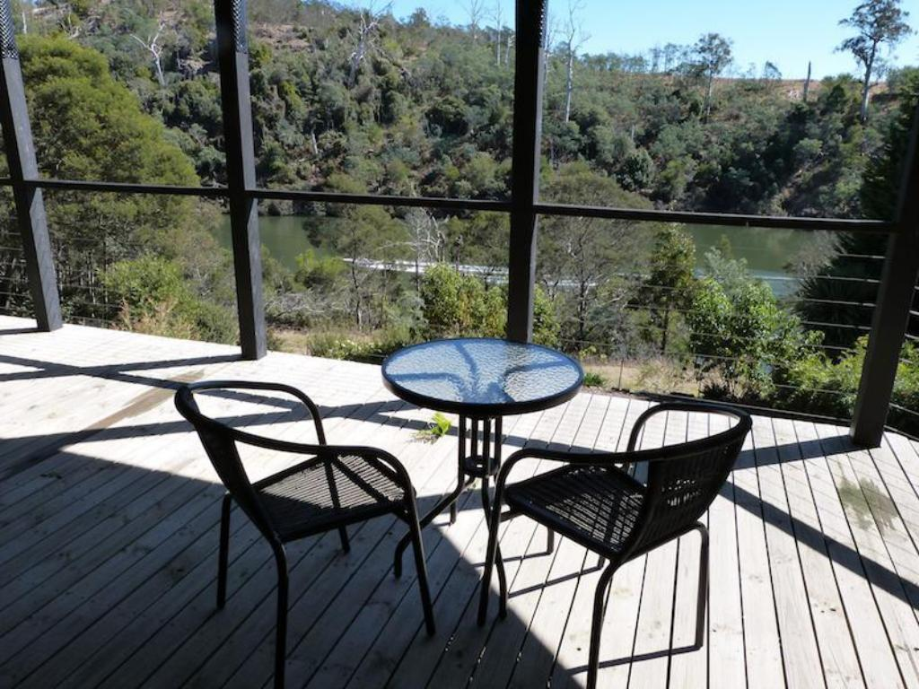 balkong/terrass Launceston Bed and Breakfast Apartment Retreat