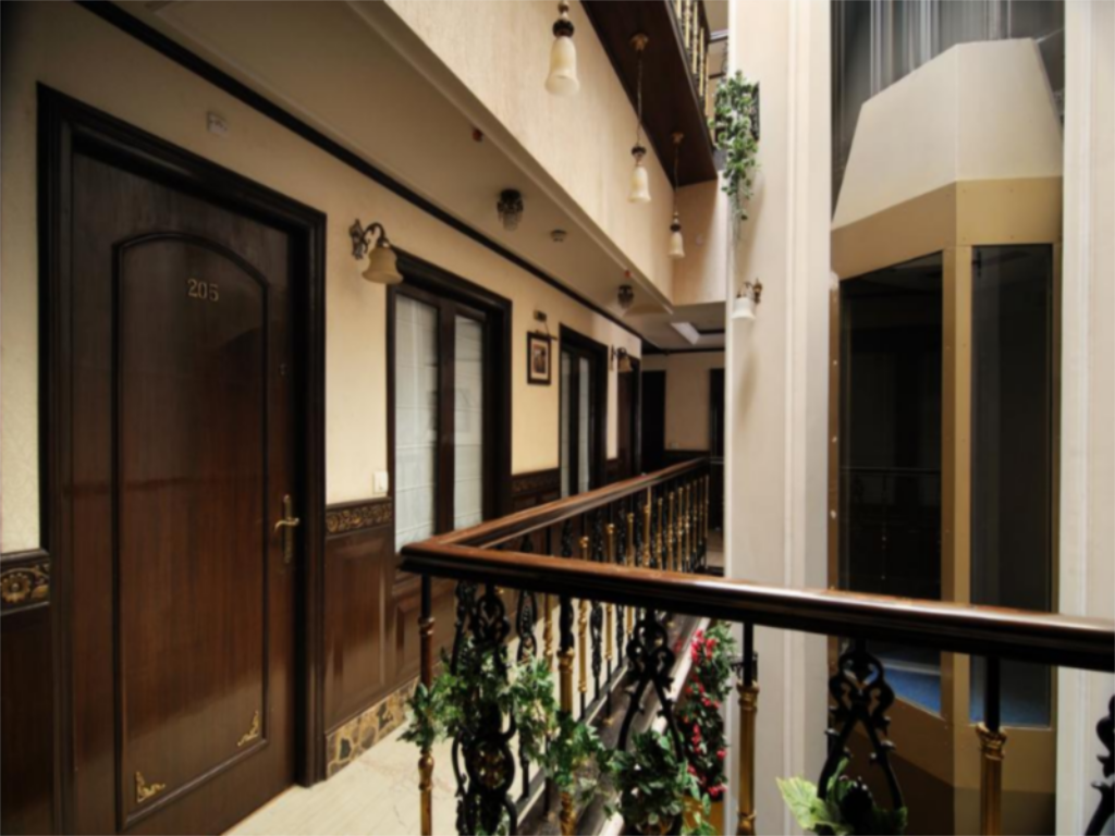 Interior view Hotel Diplomat Residency