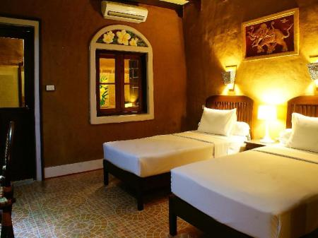 Studio Double or Twin Room - Bed Sala Done Khone Hotel