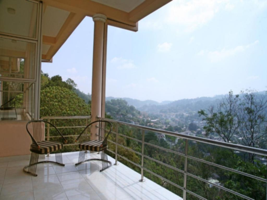 Hotellet indefra Kandy View Garden Hotel