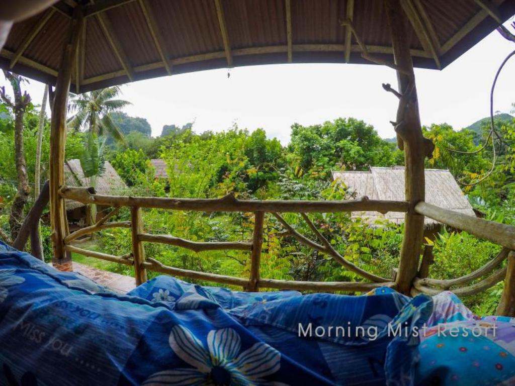 Balcony Morning Mist Resort