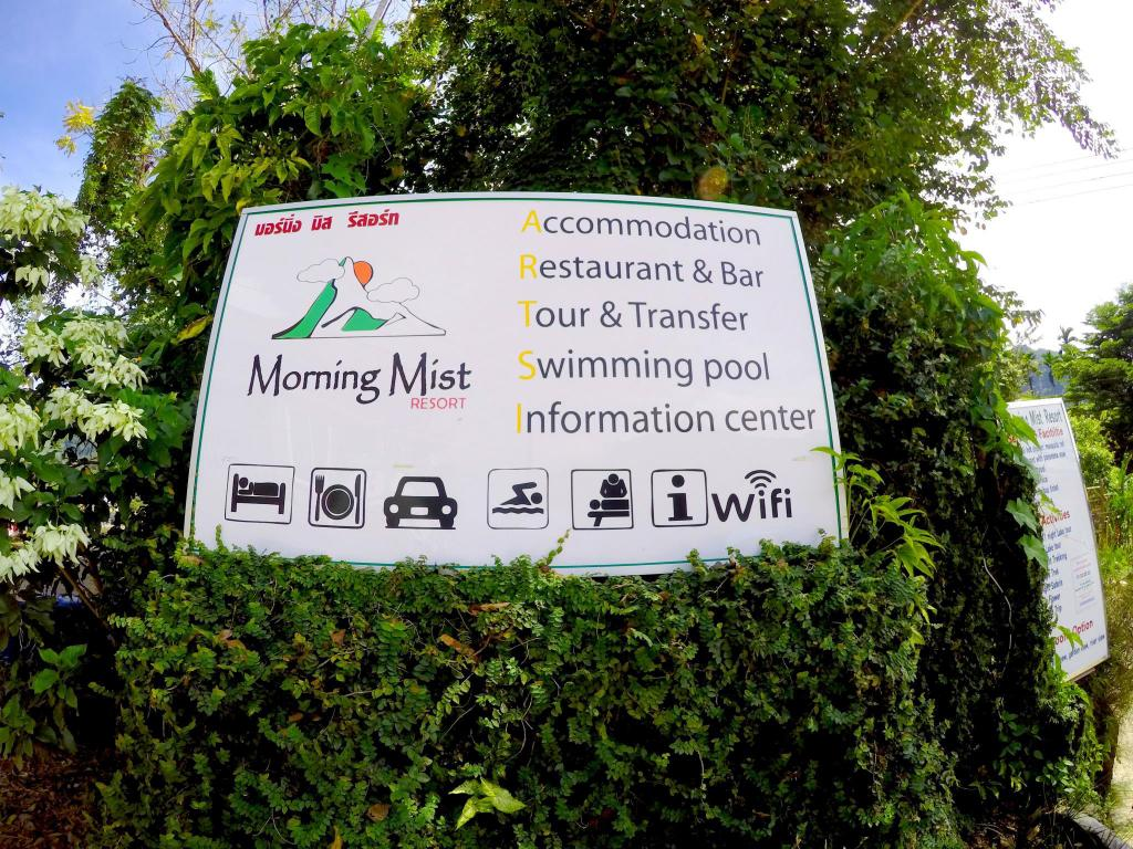 Entrance Morning Mist Resort