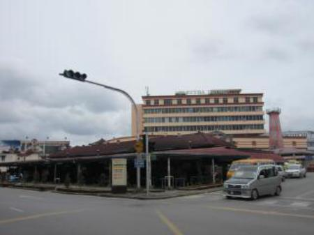 Exterior view Public Lodge Kuching @ Market Road