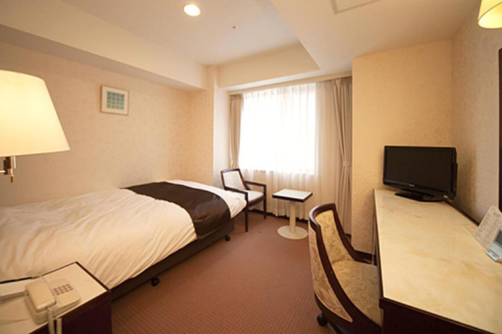 Standard Single Room - Room plan Niigata Grand Hotel