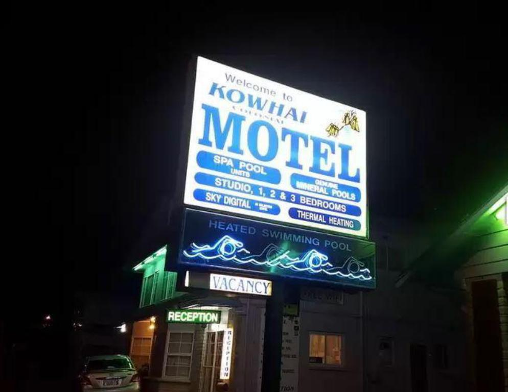 More about Kowhai & Colonial Motel