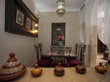Interior view Riad M'Boja