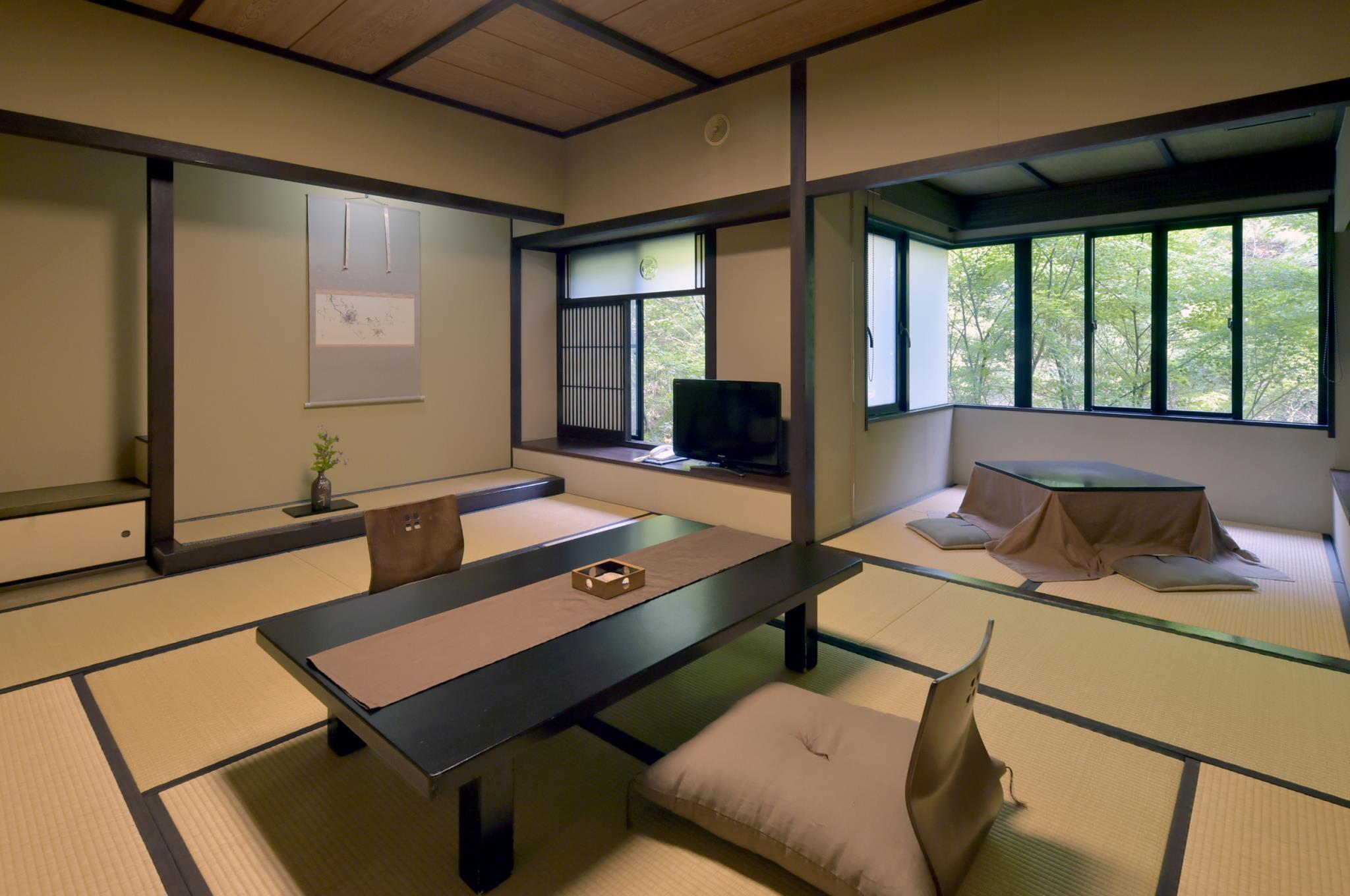 Superior Japanese Style Room - Natural Hot Spring Access Included