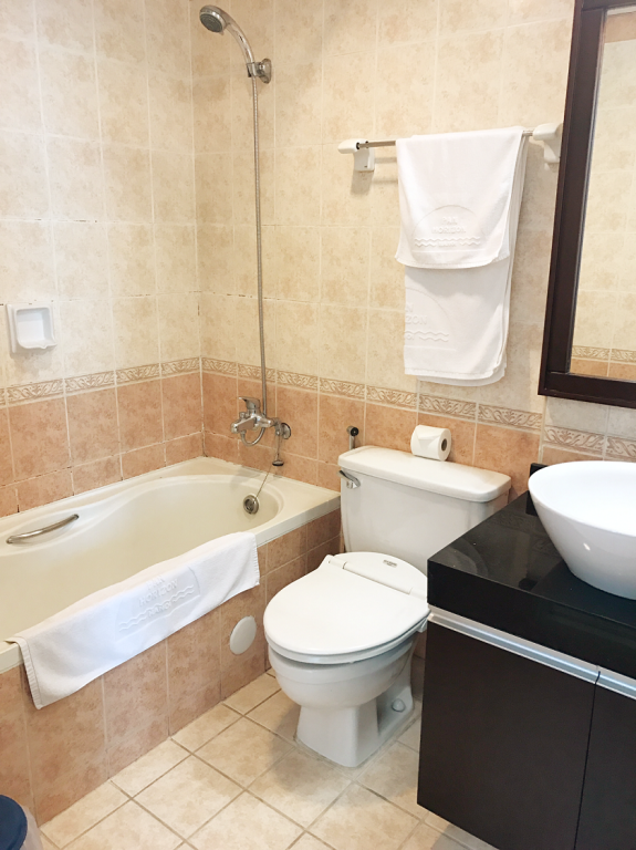 Apartament z 1 sypialną - Łazienka Pan Horizon Executive Residences