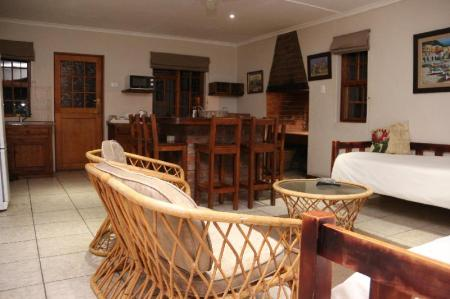Eland S/Catering Cottage - UNIT PRICE - Room plan Aan die Oewer Guest House