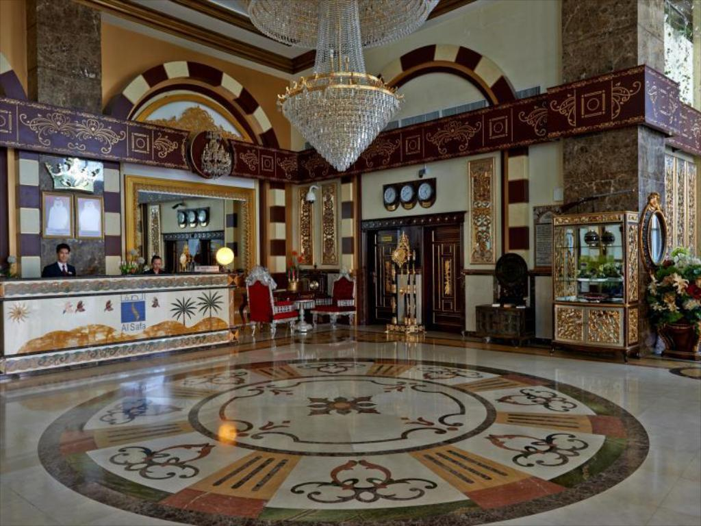 Lobby Al Safa Royal Suites