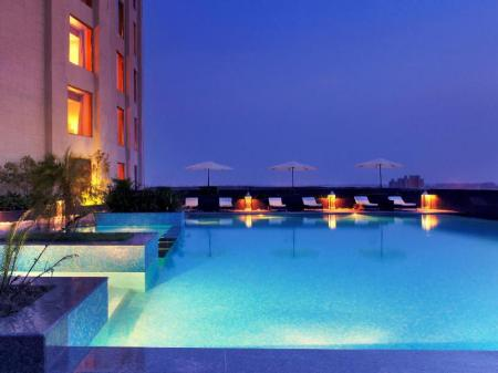 Swimming pool [outdoor] Radisson Blu Hotel New Delhi Dwarka