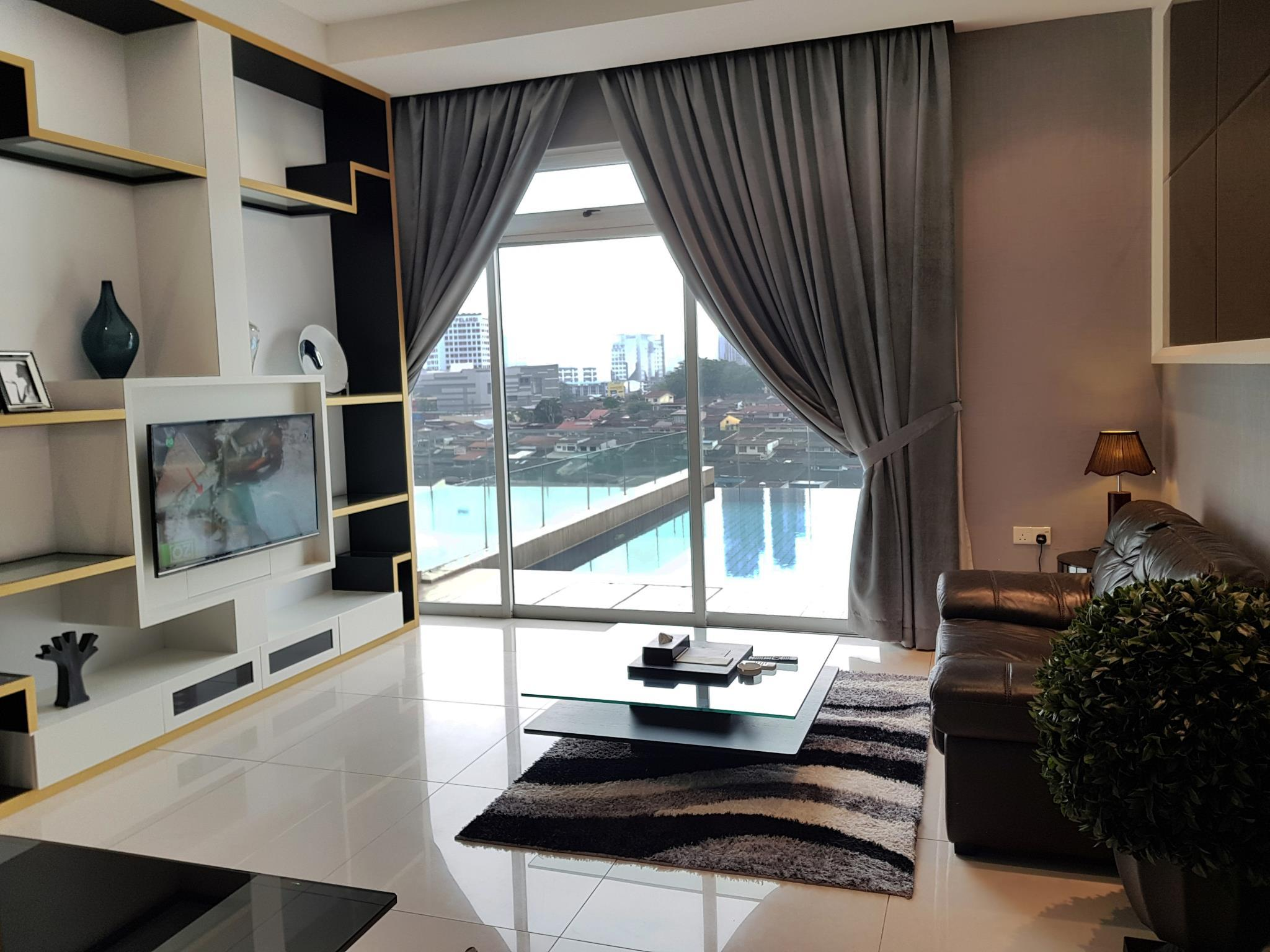 2-Bedroom Premier Apartment with 1 King Bed, 1 Single Bed and Private Pool