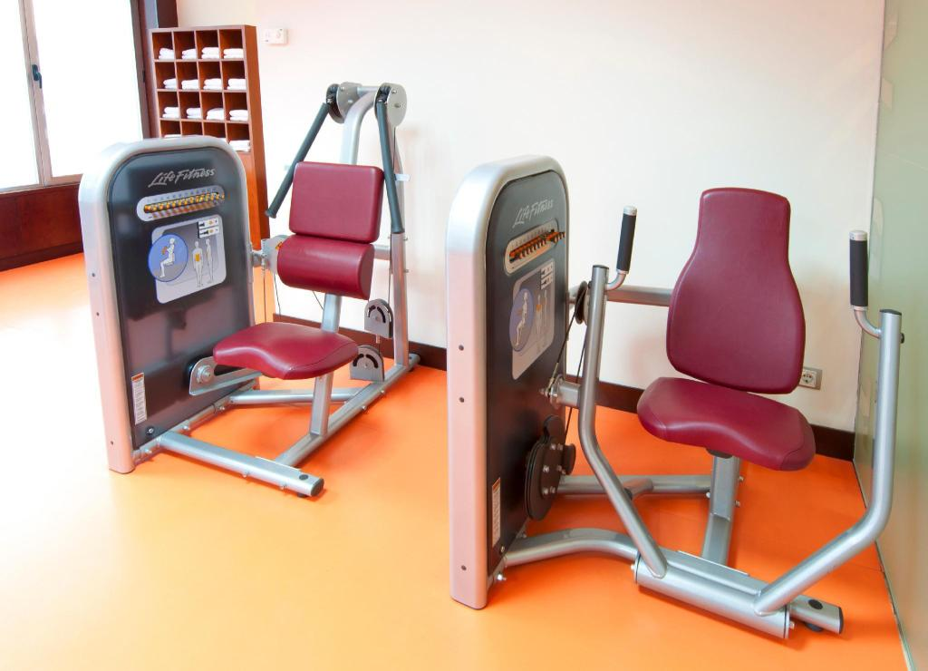 Fitness center Hotel Madrid Centro managed by Melia
