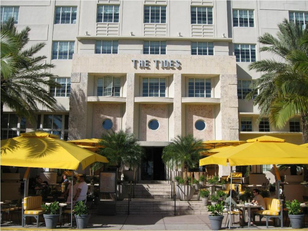 Tides South Beach Hotel Miami
