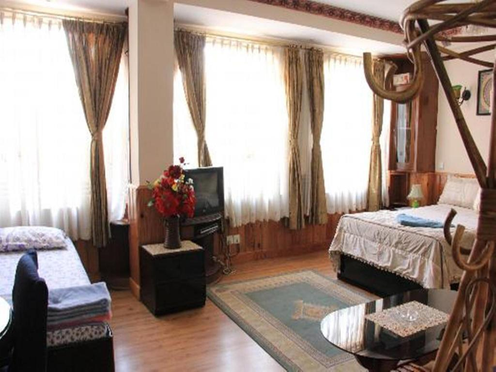 Hotellet indefra Thamel Apartments