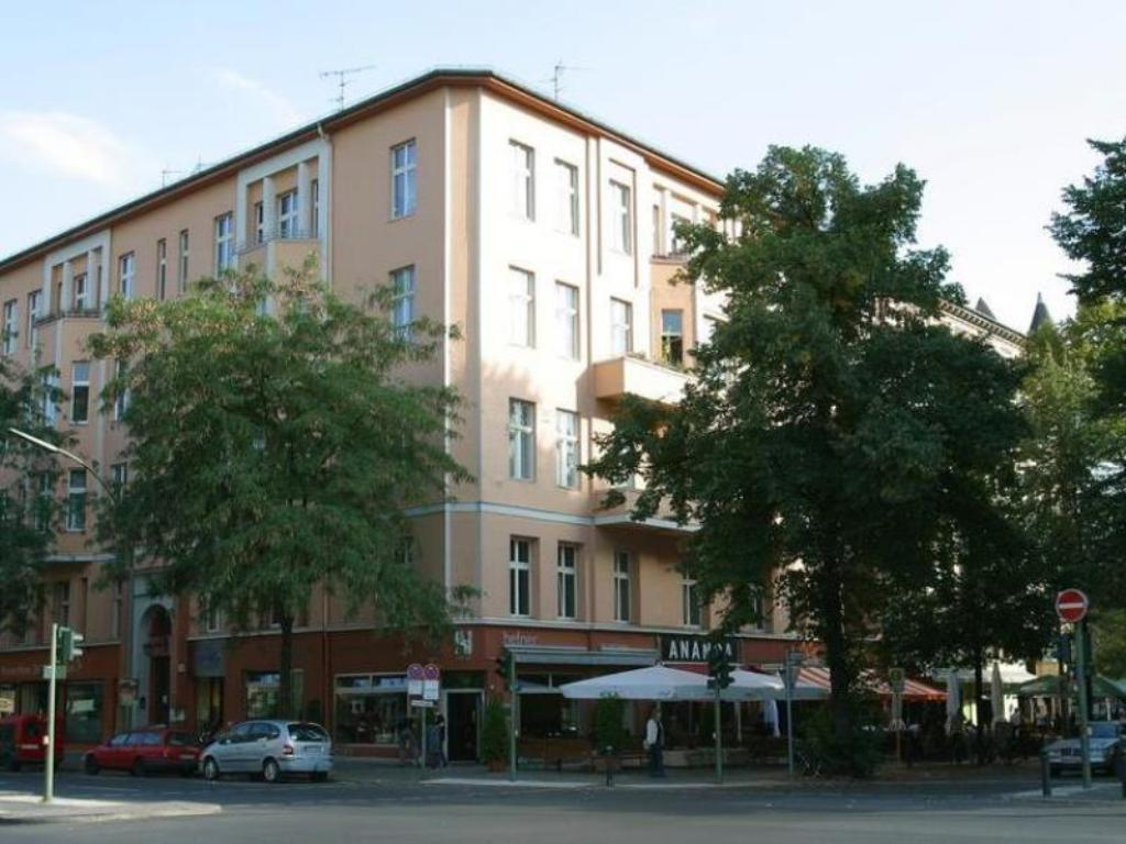 Pohled zvenku Pension Peters Berlin