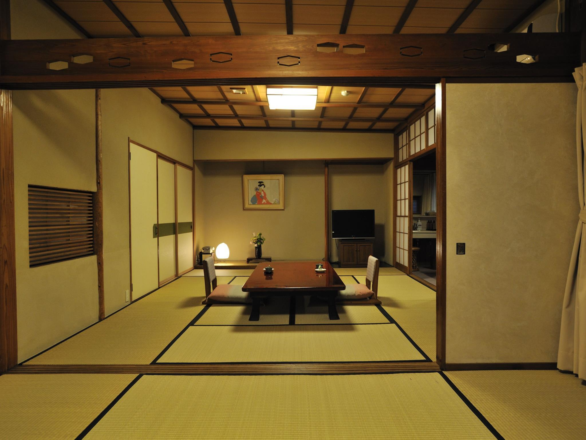 Japanese Style Room A with Open-Air Bath