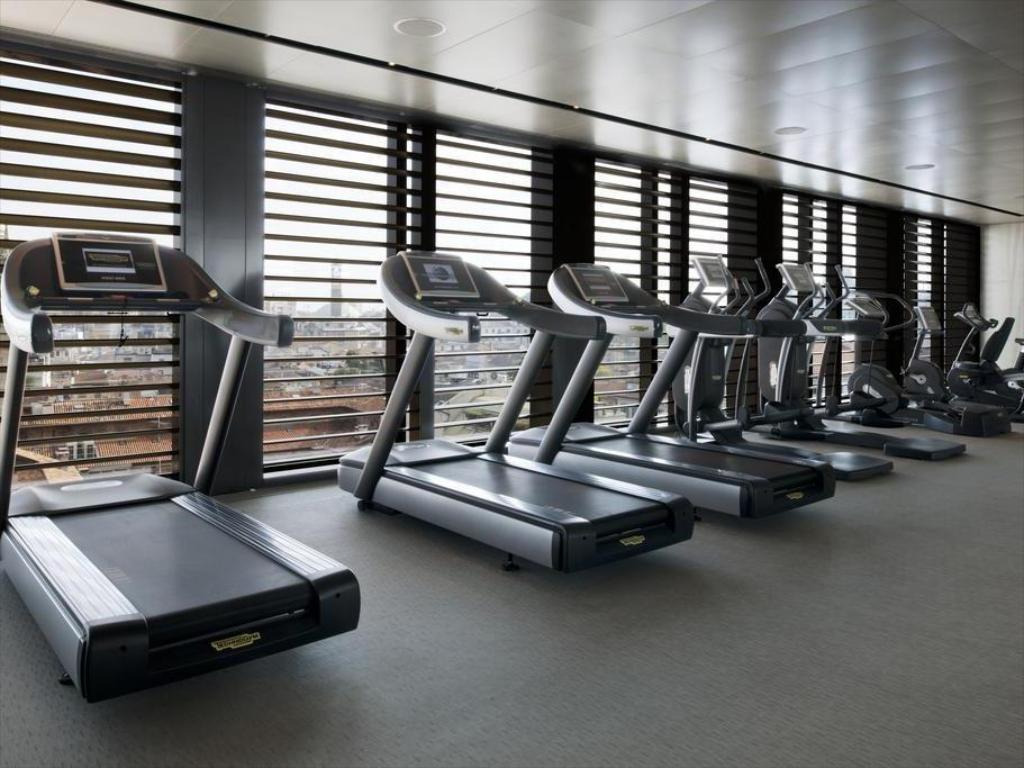 Fitness center Armani Hotel Milano