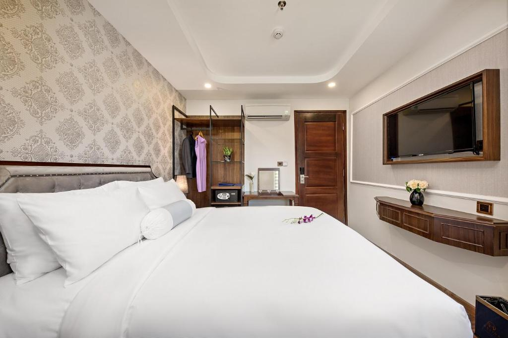 Superior Double City View - Bed Halina Hotel and Apartment