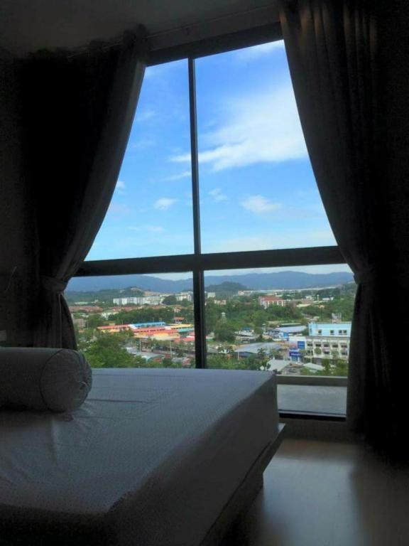 View from inside Sugarpalm Condo Suanluang Phuket By Mananya