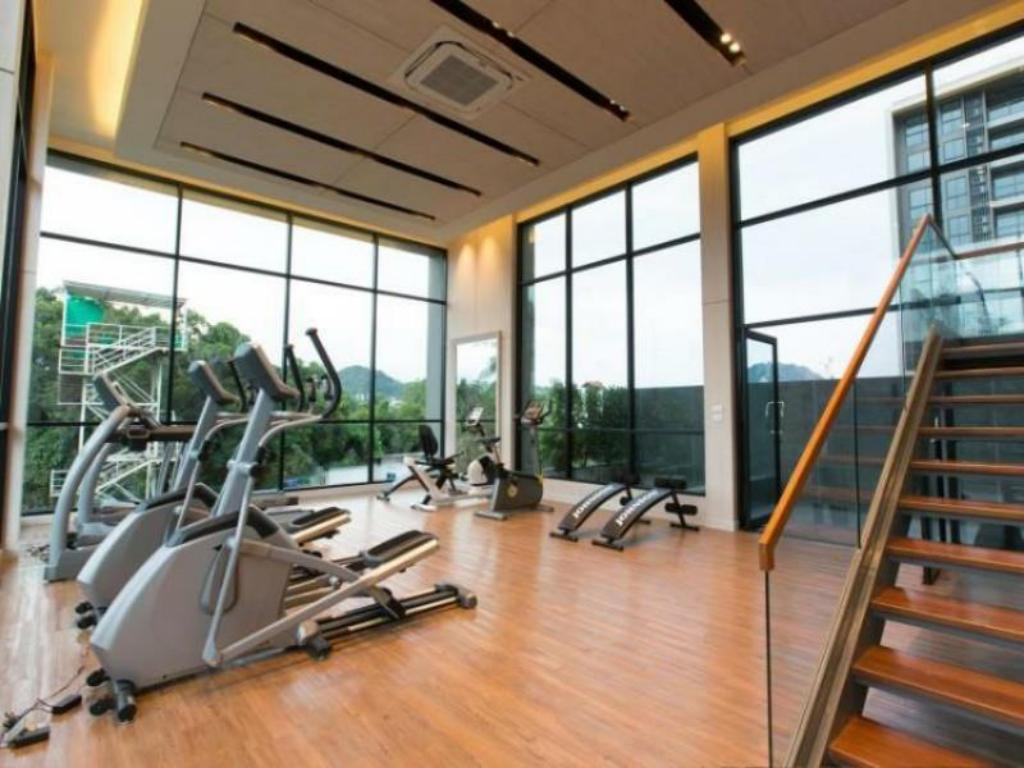 Fitness center Sugarpalm Condo Suanluang Phuket By Mananya