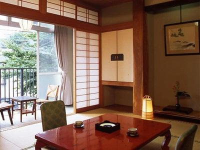 Japanese Style Twin Room with Private Bathroom