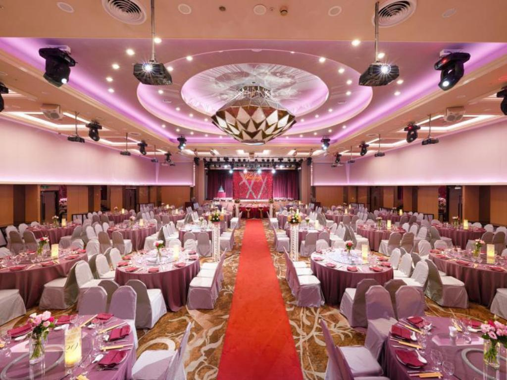 Salón de banquetes The Howard Plaza Hotel Taipei