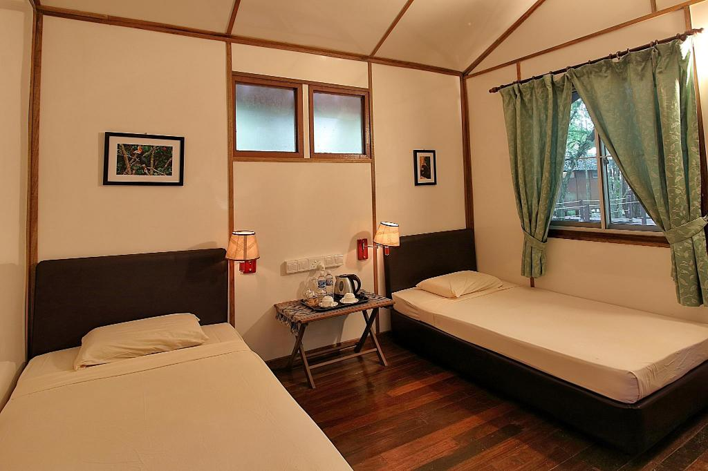 Standard - (2 Single Beds) - Guestroom Nature Lodge Kinabatangan