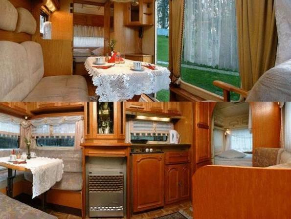 Camping Trailer for Four Guests