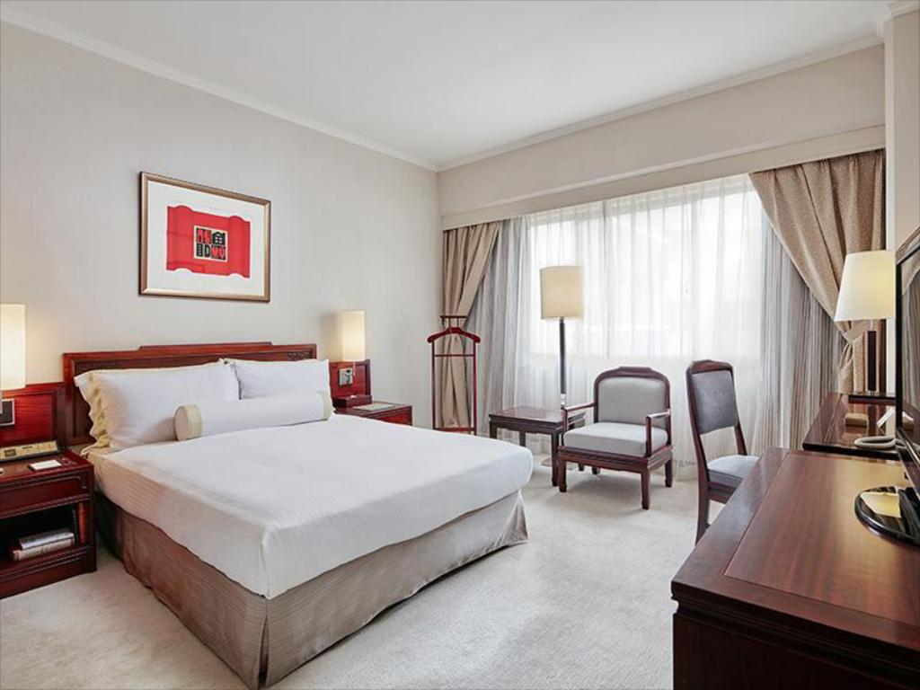 Standard Double - Room plan The Howard Plaza Hotel Taipei