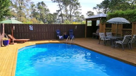 Swimming pool [outdoor] Mokoia Downs B&B