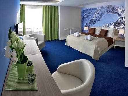 Superior Doppelzimmer mit Bergblick (Superior Double Room with Mountain View)