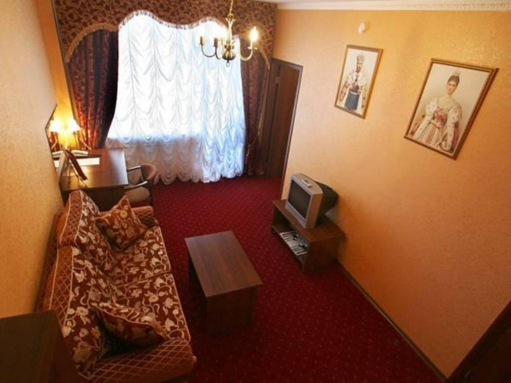 Interior view Legendary Hotel Tsarskii Dvor