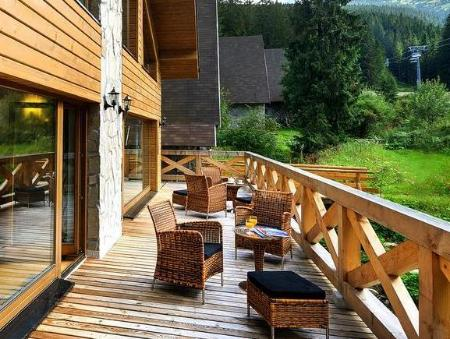 Balcony/terrace Chalets Jasna Collection