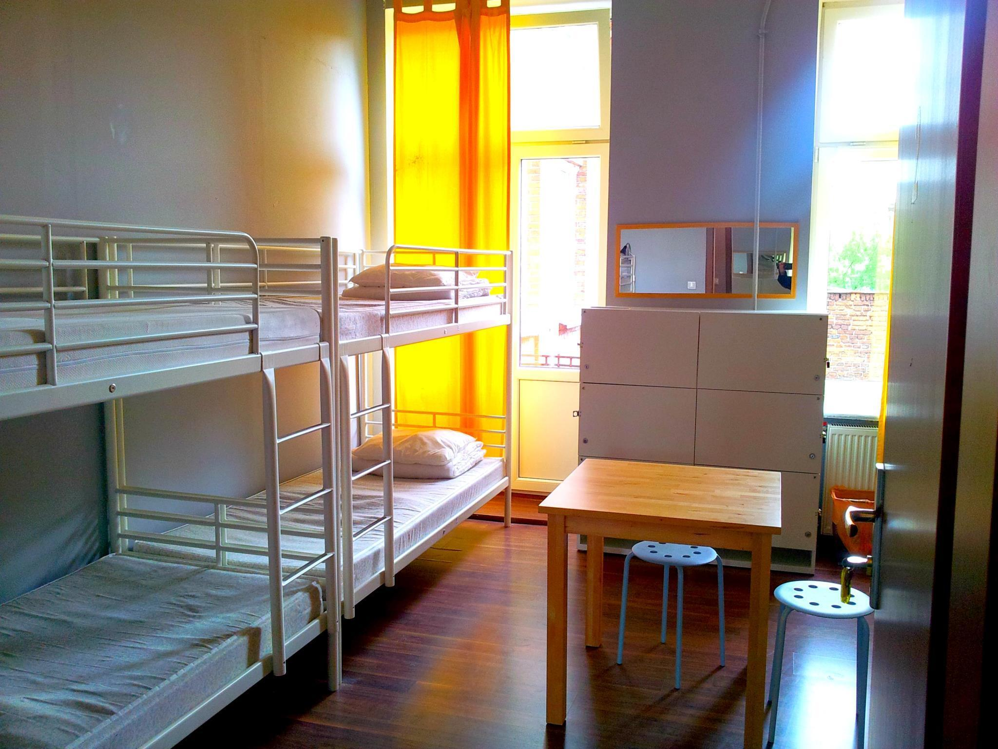 8 bedded mixed dorm