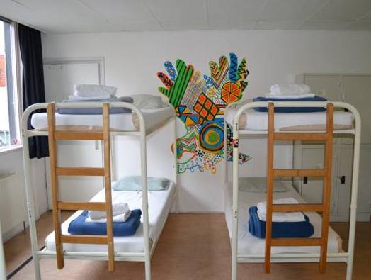 Einzelbett im gemischtem Schlafsaal (Single Bed in Mixed Dormitory)