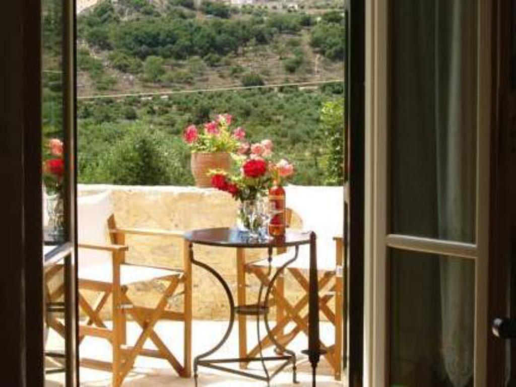 Balcony/terrace Helianthos Traditional Villas