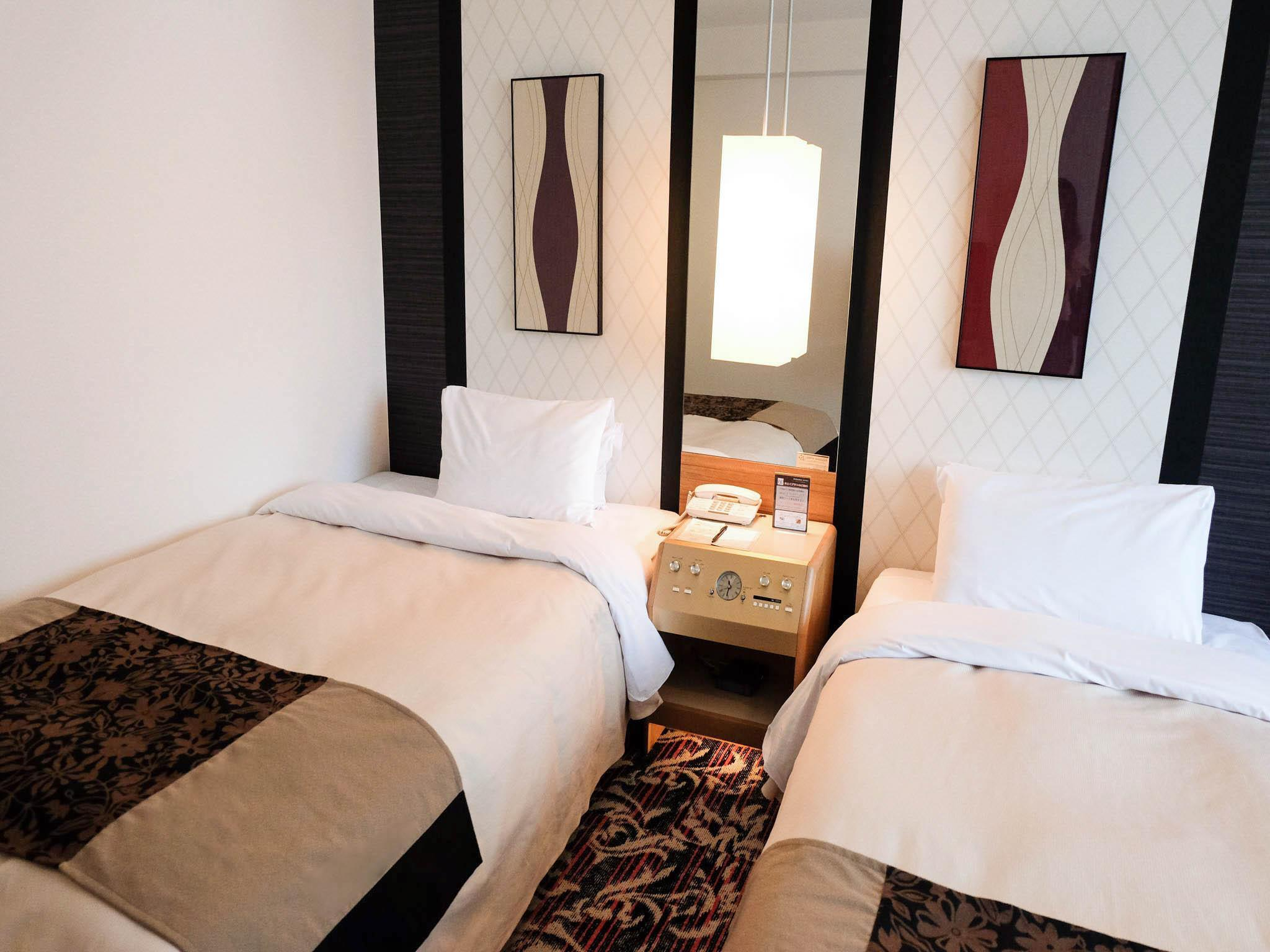 Cameră premium twin - fumători (Premium Twin Room - Smoking)