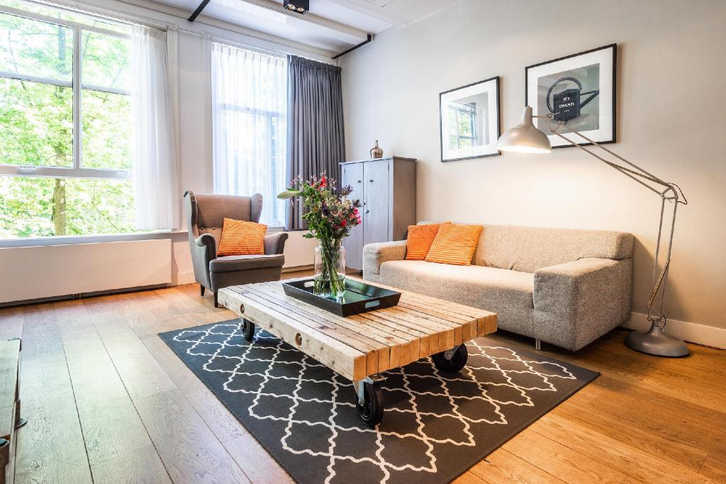 Zwei Schlafzimmer Apartment - Zimmer Short Stay Group Prinsengracht Canalhouse Apartments