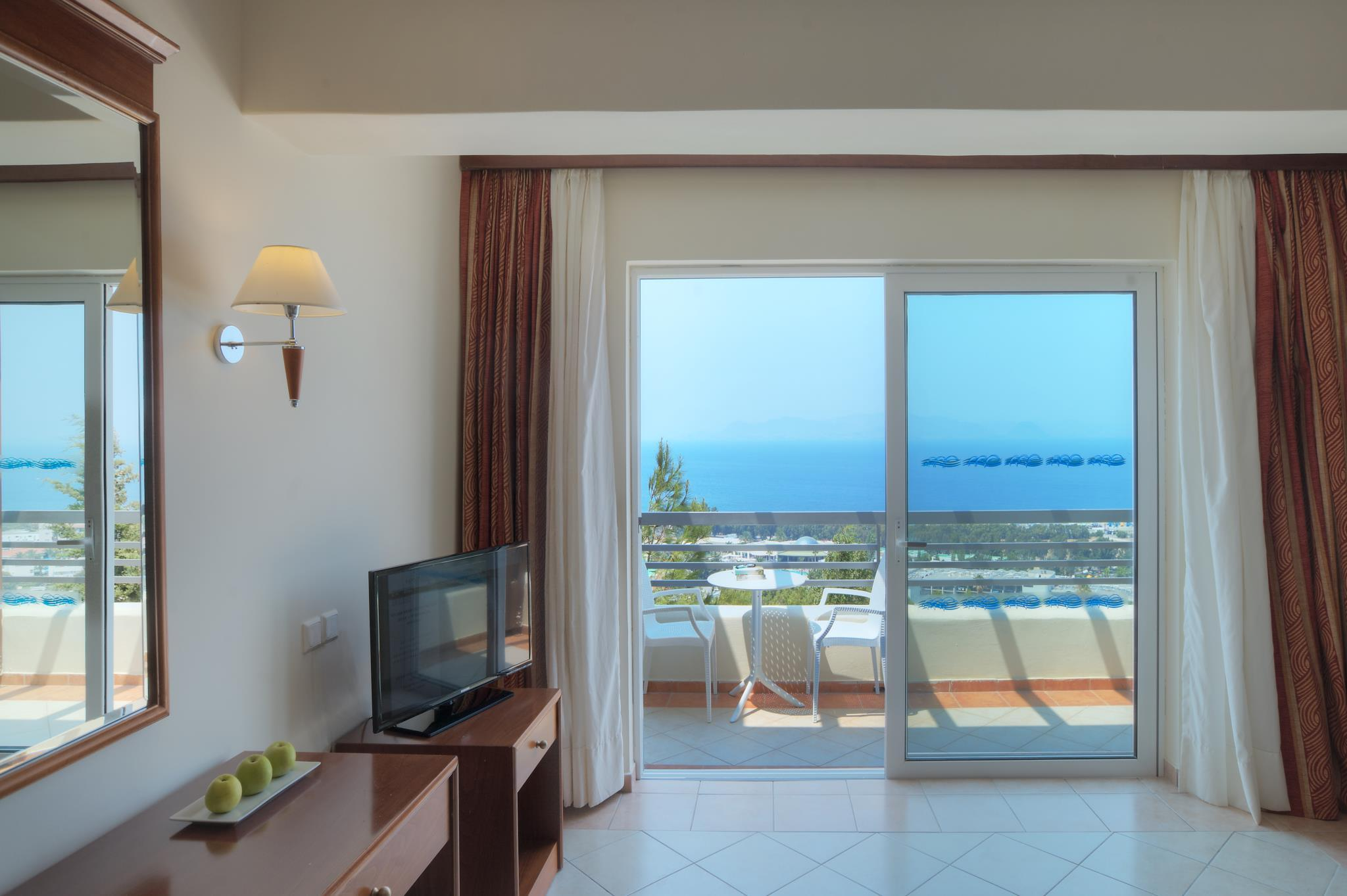 Doppelzimmer mit Blick (Double Room - Sea View)