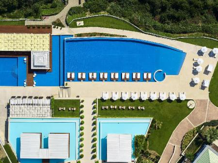 Außenpool Cavo Olympo Luxury Hotel & Spa - Adult Only