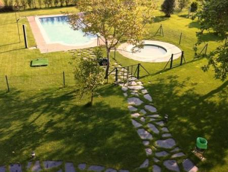 Swimming pool Hotel Rural Campaniola