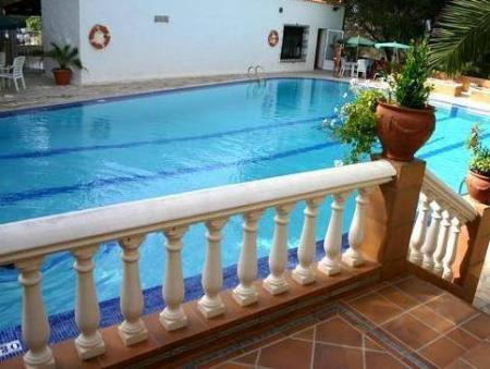 Swimming pool Hotel & Spa Entre Pinos