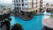 1BR Thamrin Residence City View By Travelio