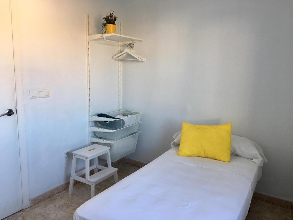 Cameră single - Plan cameră Malaga Hostel